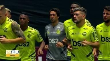 Fla confiante mas com pés no chão - Presidente do clube afirma que comissão técnica preparou o time para uma grande decisão contra o River Plate.