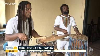 Agenda Cultural: veja os principais eventos que acontecem em Salvador neste fim de semana - Um dos destaques é a apresentação da Orquestra Afrosinfônica.