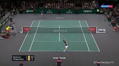 Masters 1000 - Paris - Final - Djokovic x Shapovalov