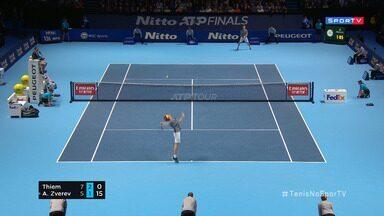 ATP Finals - Torneio dos Campões - Tsitsipas x Federer - Semifinal