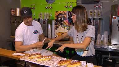 Crise? Que crise? Hot Dogs criativos e empreendedorismo harmonizam bem entre si - Veja vídeo.