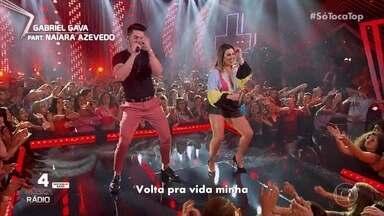 """Gabriel Gava e Naiara Azevedo e cantam """"Delicinha"""" - Confira a apresentação!"""