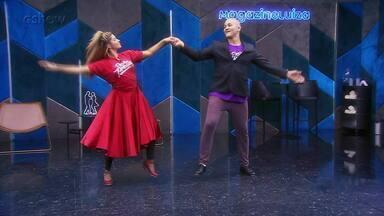 Veja como foram os ensaios de Junior Cigano para o foxtrote no 'Dança dos Famosos' - Confira!