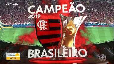 Confira os gols da rodada de domingo pela série A do Campeonato Brasileiro - Com derrota do Palmeiras para o Grêmio, o Flamengo se torna campeão brasileiro de 2019.