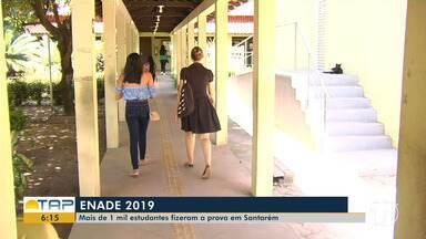 Mais de 1 mil estudantes fazem a prova do Enade em Santarém - Exame foi aplicado no domingo (24).