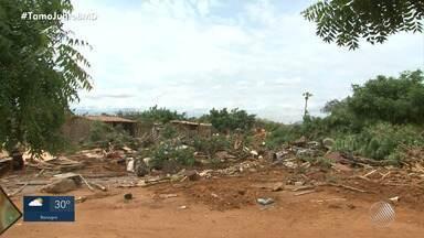 PF realiza operação e acampamentos do MST na região norte do estado - Área do Projeto Salitre, em Juazeiro, e do Projeto Senador Nilo Coelho, em Casa Nova, foram desocupadas. Cerca de 700 famílias viviam nos locais.