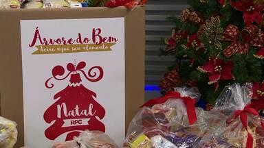 Participe da campanha de natal da RPC - Doe alimentos e juntos vamos fazer um grande Natal.