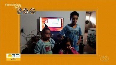 Veja quem acompanha o Bom Dia Goiás - Mande a sua foto por meio das nossas redes sociais.