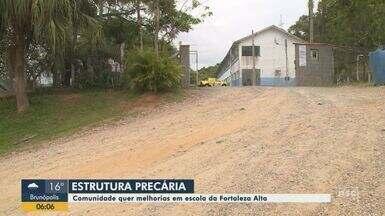Comunidade quer melhorias em escola da Fortaleza Alta - Comunidade quer melhorias em escola da Fortaleza Alta