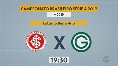 Confira os jogos da 35ª rodada do Campeonato Brasileiro - Internacional e Goiás abrem a rodada nesta quarta-feira (27) no Beira-Rio.