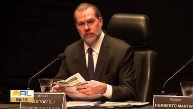 Evento apresenta metas que devem nortear as ações dos juízes nos próximos anos - O presidente do STF e do Conselho Nacional de Justiça encerrou o 13º Encontro do Poder Judiciário.