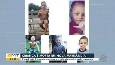 Criança de 3 anos é morta em Nova Marilândia. Madrasta é suspeita do crime - Criança de 3 anos é morta em Nova Marilândia. Madrasta é suspeita do crime