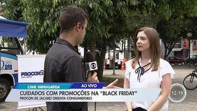 sexta-feira é dia de Black Friday - Veja orientações na hora de ir às compras.