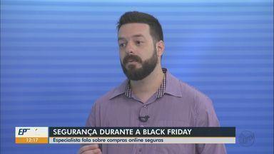 Especialista fala sobre compras onlines seguras durante a Black Friday - De acordo com ele, é necessário verificar se o site é verdadeiro. Para isso, é possível verificar o cadeado no navegador.