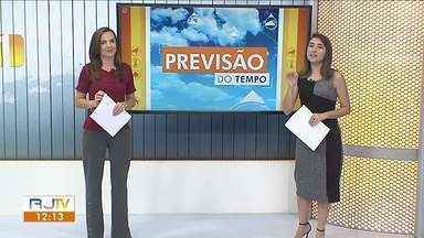 Quarta-feira será de tempo quente no Sul do Rio - A partir de quinta-feira o tempo vira e chega uma nova frente fria na região.