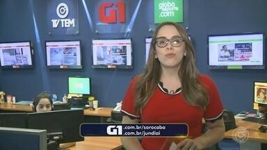 Carol Andrade traz os destaques do G1 Sorocaba e Jundiaí nesta quarta-feira - A repórter Carol Andrade traz os destaques do G1 Sorocaba e Jundiaí nesta quarta-feira (27).