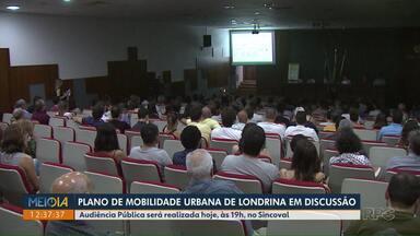 Plano de Mobilidade Urbana de Londrina será discutido em nova audiência pública - A audiência Pública será realizada nesta quarta-feira (27), às 19h, no Sincoval.