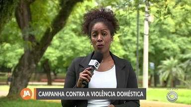 Operação prende sete suspeitos de envolvimento em crimes de violência contra mulher - Campanha mundial contra a violência doméstica é lançada nesta quarta-feira (27).