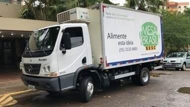 Em Ijuí, projeto distribui alimentos para entidades da cidade - Mais de 115 toneladas foram destinadas para pessoas em situação de vulnerabilidade social.