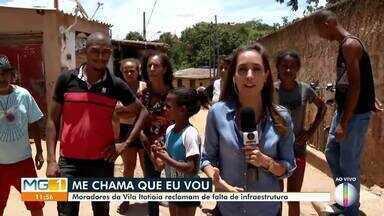 Quadro 'Me chama que eu vou' mostra problemas na Vila Itatiaia em Montes Claros - Moradores reclamam da falta de infraestrutura no Bairro Vila Itatiaia.