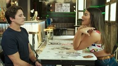 Rui afirma a Nanda que Rita é o amor de sua vida - O produtor diz que gosta de Nanda como amiga e profissional