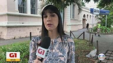 G1 no BDMG: Mulher furta cerveja, tenta matar fiscal e acaba presa na Grande BH - Na delegacia de Pedro Leopoldo, Angelina Francisca Maciel, de 60 anos, teria ameaçado os policiais, dizendo que mataria 'um por um'.
