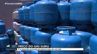 Reajuste: baianos reclamam do aumento do preço do botijão de gás - O consumidor pode encontrar o produto com valores diferentes, a depender do bairro da capital baiana.