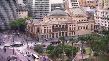 Centro Histórico de São Paulo atrai turistas de várias cidades - Local conhecido como Triângulo guarda a história da capital paulista. E ainda: projeto social leva ensino de música clássica a crianças de escolas municipais em Mogi das Cruzes.