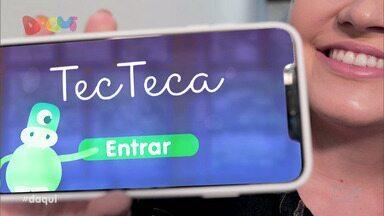 Conheça o aplicativo 'Tecteca' - Aplicativo une a tecnologia e a educação.