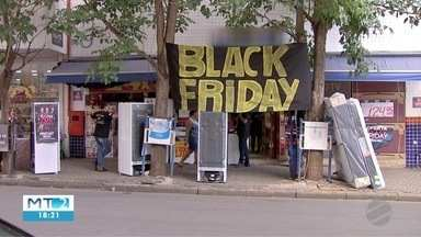 Black friday esquenta o comércio em Cuiabá - Black friday esquenta o comércio em Cuiabá.