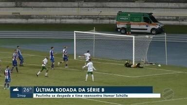Cuiabá encerra participação na Série B conta Vila Nova-GO - Cuiabá encerra participação na Série B conta Vila Nova-GO.