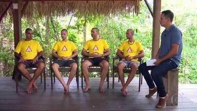 Brigadistas acusados de incendiar a floresta, no Pará, afirmam que foram injustiçados - undefined