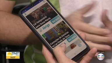 Alunos do IFPE criam aplicativo para unir pessoas dispostas a ajudar - Estudantes venceram 'Startup In School Google', competição aconteceu em SP.