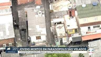 Imagens do COP mostram viela onde jovens foram mortos em Paraisópolis - O baile funk em Paraisópolis tinha cerca de 5 mil pessoas. Os jovens que morreram ficaram presos em uma viela e foram pisoteados.