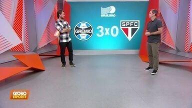 Caio Ribeiro comenta derrota do São Paulo para o Grêmio - Caio Ribeiro comenta derrota do São Paulo para o Grêmio