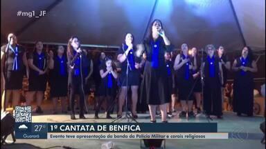 Associação de moradores do Bairro Benfica faz Cantata de Natal em Juiz de Fora - Apresentação ocorreu no fim de semana e teve apresentação da banda da Polícia Militar e corais diversos.