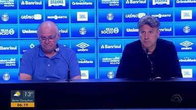 Romildo Bolzan fala sobre interesse do Corinthians pelo jogador Luan - Confira trecho da entrevista.
