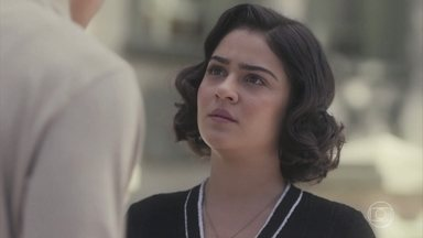 Lúcio consola Isabel - Ele diz que, apesar de todas as dificuldades, estará sempre ao lado dela