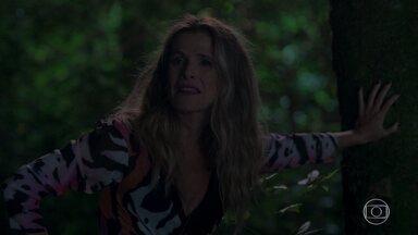 Silvana grita por socorro - Silvana se desespera após se perder na mata