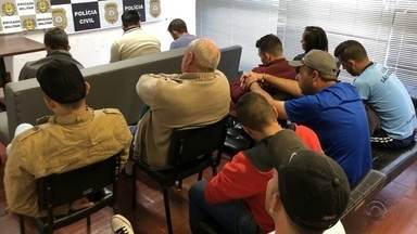 Operação Policial prende 15 pessoas no Norte do Estado - Grupo é suspeito por crimes de homicídios, contrabando de arma de fogo e tráfico.