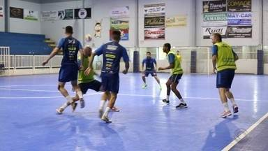 Primeira partida da final da Liga Gaúcha de Futsal será no sábado - Disputa será entre Guarany de Espumoso e Atlântico de Erechim.