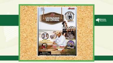 Agenda Rural: confira eventos que acontecem no interior do estado - Entre os destaque tem a Cavalgada do Litoral, que tem como ponto de partida Porto do Sauípe.