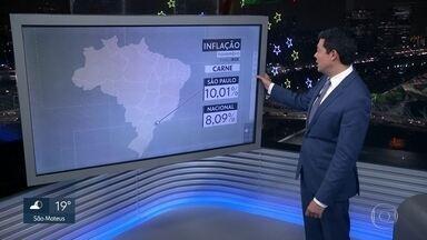 Carne puxou a inflação de novembro - Em São Paulo, índice ficou acima da média nacional. Energia e gastos com loterias também contribuíram para a alta.