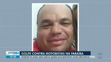Preso homem que aplicava golpe contra motoristas na Paraíba - Ele aplicava golpes principalmente contra alternativos.