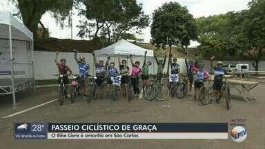 'Bike Livre' estimula a prática esportiva em São Carlos - Evento neste domingo (8) terá passeio ciclístico e apresentações de bike e de música.