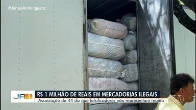 Compradores ficam inseguros após apreensão de mercadorias na região da 44 em Goiânia - Associação da 44 diz que falsificadores não representam região.