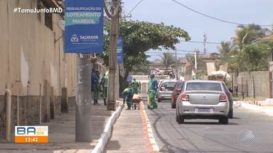 Prefeitura entrega obras de drenagem e pavimentação em conjunto na Praia do Flamengo - As obras foram feitas no Conjunto Marissol e entregues neste sábado (7).