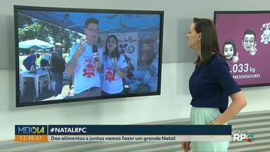 Árvore do Bem: campanha arrecada alimentos em Toledo - A campanha de Natal da RPC vai até o dia 16 de dezembro.