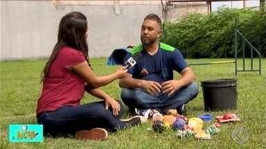 TV Bicho: especialistas de Divinópolis apontam cuidados ao comprar brinquedos para os pets - Animais de estimação adoram brinquedos e os acessórios ajudam a desviar a atenção para não destruírem objetos da casa.
