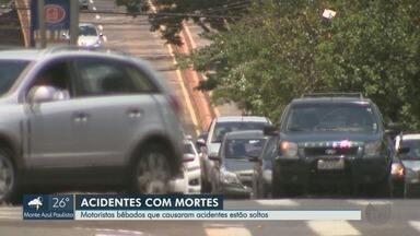 Aumentam acidentes fatais com motoristas embriagados na região de Ribeirão Preto - Desde janeiro, 10 pessoas perderam a vida em colisões e atropelamentos.